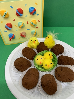 Easter Chocolate Truffles Recipe