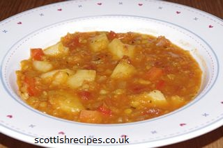 Potato Lentil Soup
