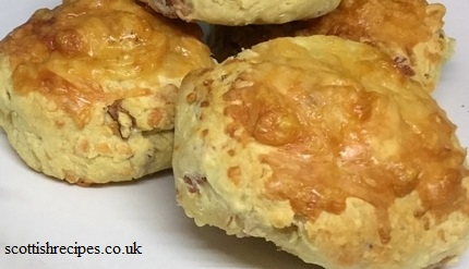 Cheese and Bacon Scones Recipe